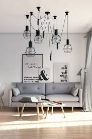scandinavian lighting fixtures. Living Room:Scandinavian Room Scandinavian Hardwood Floors Ideas White Ambient Grey Sofa Lighting Fixtures