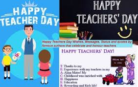 Quotes For Teachers From Students Beauteous Happy Teachers Day Wishes Messages Status And Quotes By Famous