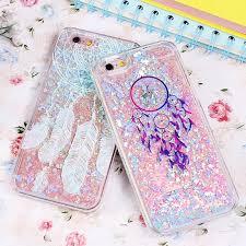 Dream Catcher Case Iphone 7 Plus Glitter Flowing Liquid Case For iPhone 100 100S 100100 plus 100100 17