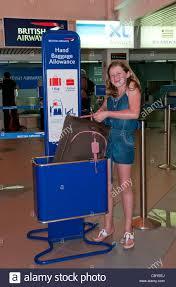 checking bin baggage bin stock photos baggage bin stock images alamy