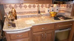 nothing makes a stronger design statement in an rv kitchen than a countertop backsplash this is an area where you can put your imagination to work and come