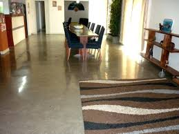 polished concrete vs vinyl flooring designs over basement