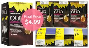 Save the simpler hair color coupon and coupon code before it expired! Garnier Olia Hair Color Only 4 99 At Walgreens The Krazy Coupon Lady
