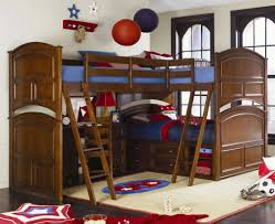 Image of: Small Bunk Beds With Stairs And Storage Design