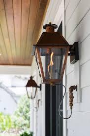 front porch gas lanterns