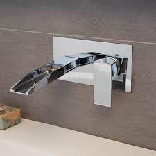 tabor waterfall wall mounted basin mono waterfall bathroom taps better bathrooms