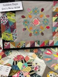 Cotton Patch Quilt Shop | University Park, Florida & Golden Days is the latest unique Template of the Month designed by Jen  Kingwell. Adamdwight.com