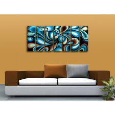 Large Colorful Wall Art Living Room Decoration Ideas Modern