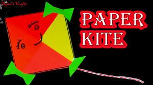 How To Make Origami Kite Paper Kite Without Sticks