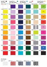 Colour Guide Siser