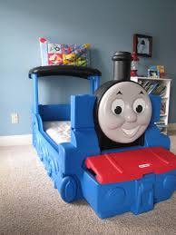 thomas train toddler bed small