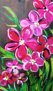 Easy Whimsical Flowers Acrylic Painting Tutorial for Beginners | Share Your  Craft | Pinterest | Acrylic painting tutorials, Acrylic paintings and  Whimsical