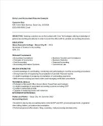 Sample Resume Objective For Accounting Position Best of Entry Level Resume Objective Accountant Example Account Executive