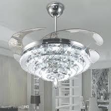 crystal chandelier ceiling fan led crystal chandelier fan lights invisible fan crystal lights with regard to