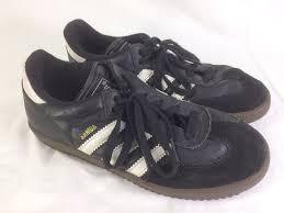 details about adidas samba boys girls youth 5 indoor soccer shoes sneakers leather