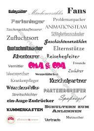 Wortgewaltiges Din A4 Poster Für Oma Und Opa Von Pünktchenpompon