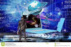Generation New Computer Technology Stock Photo Image Of