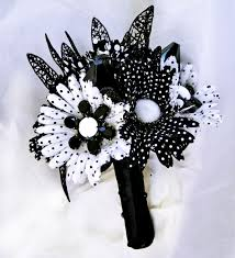 black and white wedding flowers for a chic wedding decorations in Wedding Bouquets Black And White black white and red flowers for wedding 383x420 black and white wedding flowers for a black and white silk wedding bouquets