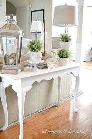 distressed entry table. rustic white console table decorating ideas photo pics of end tables small entry . distressed