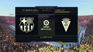 Barcelona vs Cadiz   La Liga 21 February 2021 Prediction - YouTube