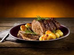 طريقة عمل لحم الروستو بالخضار