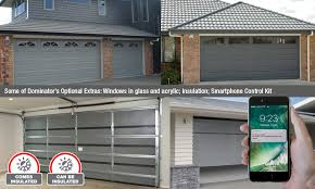 optional choices for your garage door