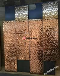 Metal Kitchen Wall Tiles Gold Metal Kitchen Wall Tile Mosaics Smmt113 Stainless Steel Tiles