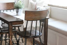 breakfast nook table makeover by the wood grain cottage breakfast nook furniture