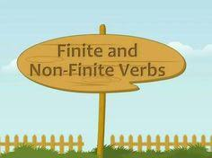 Image result for Finite and Nonfinite Verbs