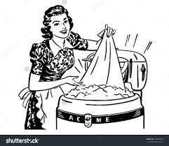 laundry clipart black and white. Perfect White Angry Woman Washing Clothes Clipart  ClipartFox Clip Art Stock With Laundry Clipart Black And White A