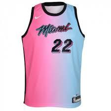 Survêtement nike nba pour homme. Maillot Nba Enfant Nike City Edition Jimmy Butler Miami Heat Basket4ballers