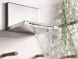 chrome plated wall mounted waterfall