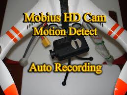 qr detect mobius hd actioncam motion detect auto recording walkera qr