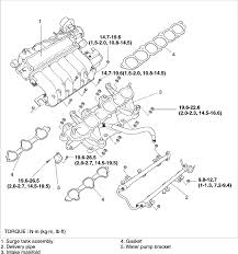 2004 kia sorento spark plug wiring diagram 2004 2005 kia amanti back 3 spark plugs and wires coils intake manifold on 2004 kia sorento