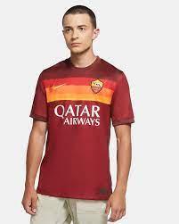 A.S. Roma 2020/21 Stadium Home Herren-Fußballtrikot. Nike BE
