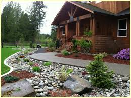 Perfect Rock Landscaping Ideas for Front Yard