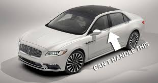 The 2017 Lincoln Continental Is A 400bhp Luxobarge With Bonkers Door