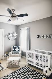 boy nursery adorable gray amp blue baby boy nursery tour with banner toys