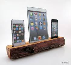Make Charging Station Charging Station Docking Station With Power Strip In Maple For