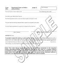 Restraining Order Forms Formtraining2 Harassment Florida Oregon Long ...