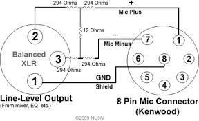 nu9n transmitter essb, ssb, hi fi, mid fi, lo fi audio processing heil microphone wiring diagram xlr balanced output to kenwood 8 pin mic plug