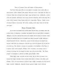 microeconomics level week final paper