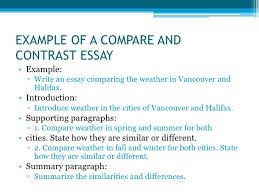 types of essays <br > 11 example of a compare and contrast essay<br