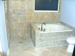 corner bathtub shower combo small bathtubs with best tub door in bathroom freestanding design