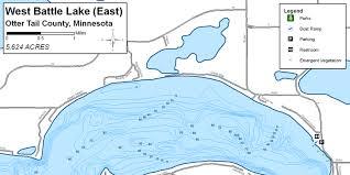 Fish West Battle Otter Tail County Minnesota