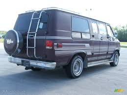 1990 Brown Chevrolet Chevy Van G20 Passenger Conversion #53982980 ...