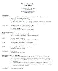 Medical School Resume Examples Medical School Student Resume