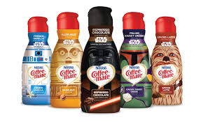coffee creamer brands. Delighful Coffee CoffeeMate StarWars_creamers To Coffee Creamer Brands