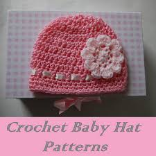 Easy Crochet Baby Hat Patterns For Beginners Inspiration Crochet Baby Hat Patterns Baby Crochet Pinterest Crochet Baby