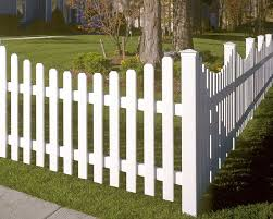 White Wood Fence White Garden Fence Gardening Ideas sitezco
